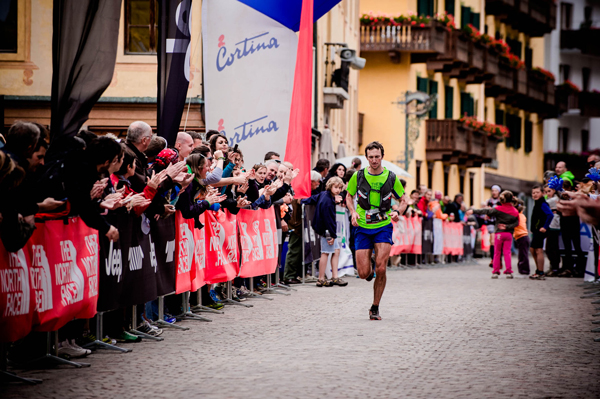 The North Face® Lavaredo Ultra Trail – Wolfe na drugim miejscu (fot. Alessandro Belluscio/Cortina Ultra Trail)