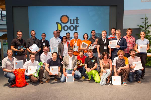 Zwycięzcy nagrody Gold Award 2013 (fot. OutDoor Show)