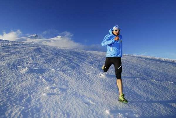 Andrzej Bargiel na Elbrusie (fot. Monika Strojny)