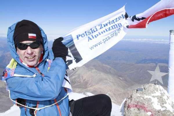 Artur Hajzer po ukończeniu biegu na 10 pozycji (fot. Monika Strojny)