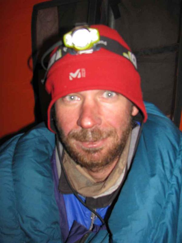 Adam Ciućka po zakończeniu akcji górskiej (fot. Adam Bielecki)