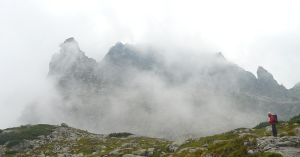 Mnich za chmurami (fot. arch. Aneta Żukowska)
