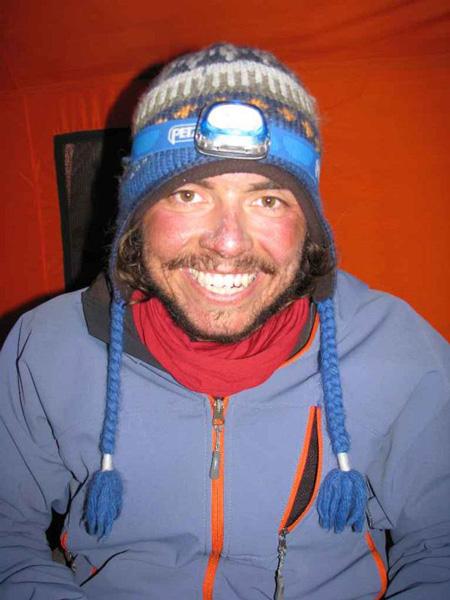 Kacper Tekieli po zakończeniu akcji górskiej (fot. Adam Bielecki)