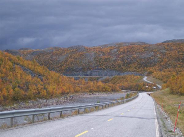 Droga przez płaskowyż