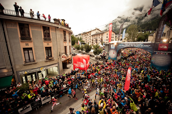 Start UTMB 2012 (fot. The North Face®/ Alo Belluscio)