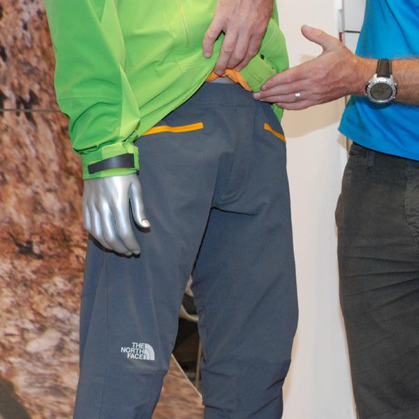 The North Face, spodnie Satellite Pant - przód (fot. Outdoor Magazyn)