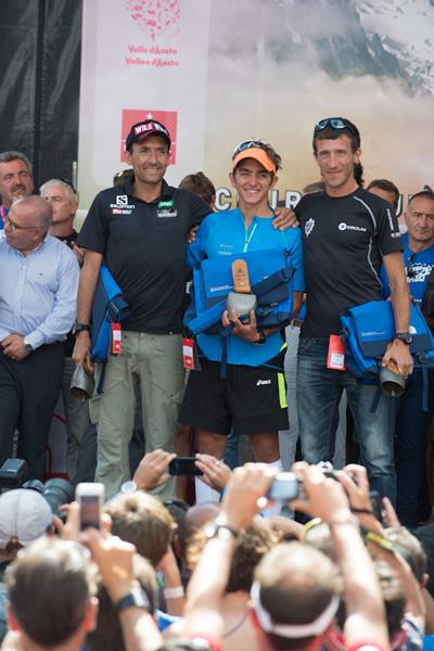 Zwycięzcy UTMB 2013 (fot. Alo Belluscio)