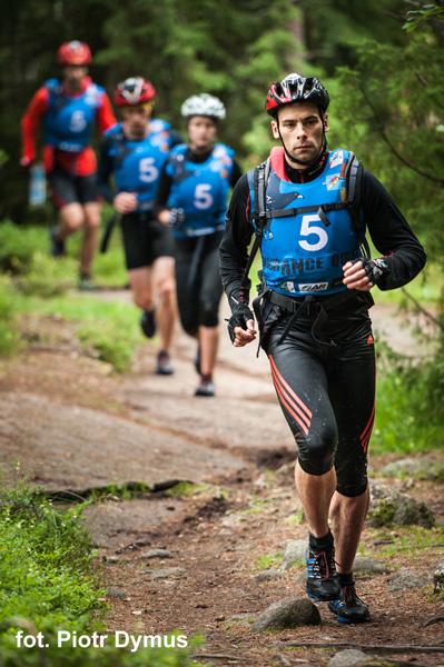 3 RZEKI Adventure Race - etap pieszy (fot. Piotr Dymus)