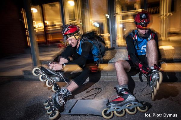 3 RZEKI Adventure Race - etap rolkowy (fot. Piotr Dymus)