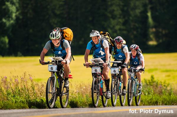 3 RZEKI Adventure Race - etap rowerowy (fot. Piotr Dymus)