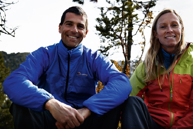 """Philippe oraz Anna Gatta przygotowani do biegu """"Great Himalayan Trial"""""""