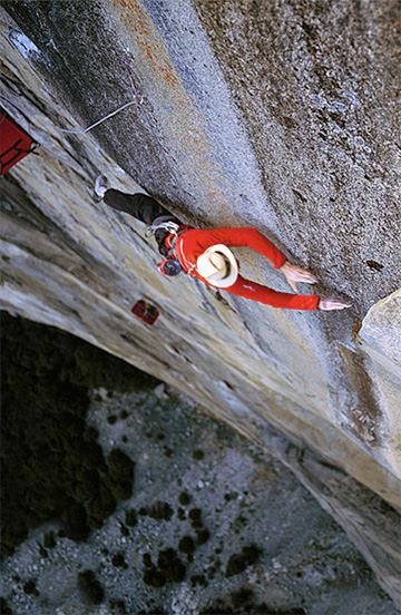 "Leo Houlding na ""The Prophet"" (fot. Alastair Lee)"