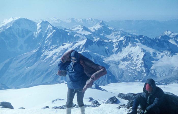 Kaukaz 1970, w drodze na Elbrus (fot. M. i J. Kiełkowscy)