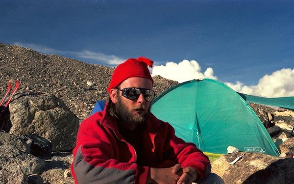 Artur Hajzer w drodze na Shishapangmę (fot. arch. Janusz Majer)