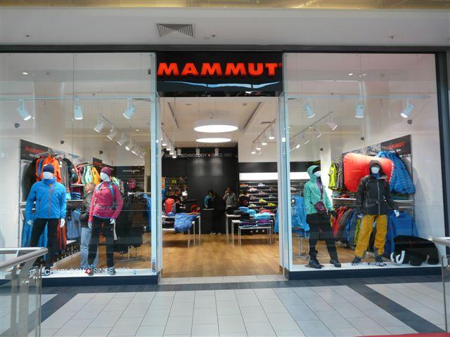 Sklep marki Mammut w Galerii Kazimierz w Krakowie (fot. Uni-Sport)