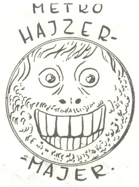 Znak firmowy festiwali katowickich, narysowany przez Witolda Sasa Nowosielskiego