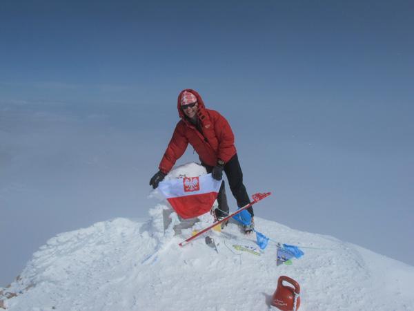 Na Elbrusie w 2010 roku (fot. arch. Izabela Smołokowska)