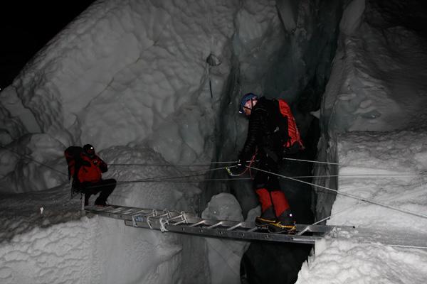 Icefall Everest w 2012 roku (fot. arch. Izabela Smołokowska)