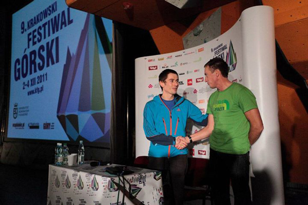 Adam Pustelnik i Denis Urubko na 9. KFG (fot. Adam Kokot/KFG)