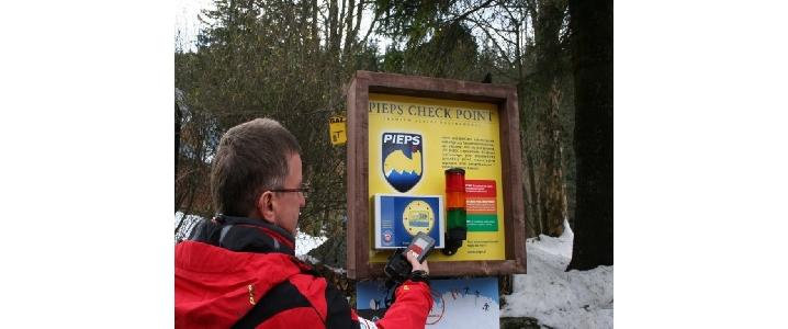 PIEPS check poin w Kuźnicach (fot. P. Bolechowski)