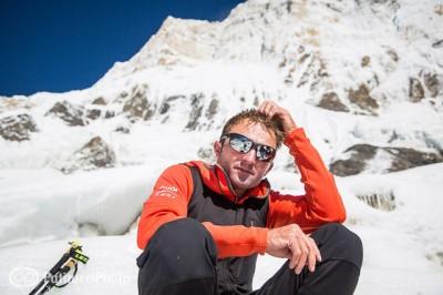 Ueli Steck pod Annapurną