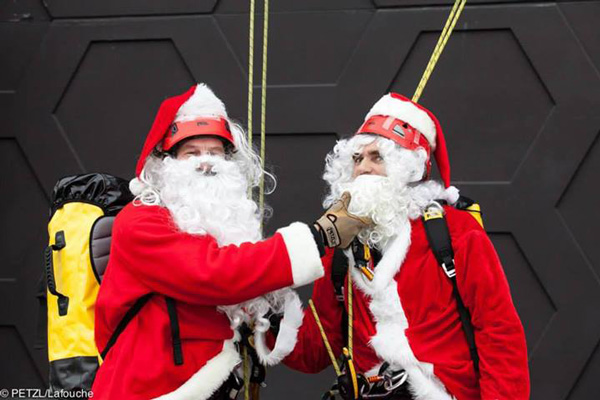 Do dzieła Mikołaje! (fot. Petzl)