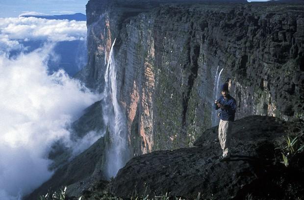 Mark na płaskowyżu Mt. Roraima (fot. arch. Mark Synnott)