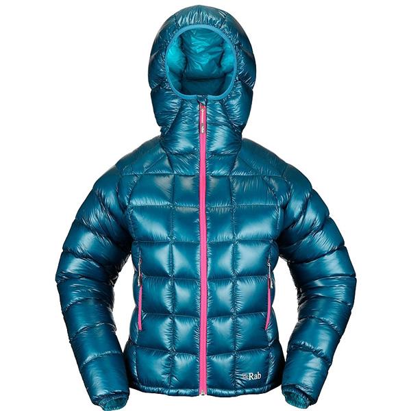 Pertex, kurtka Women's Infinity Jacket z puchem hydrofobowym i tkanina wierzchnią Pertex Quantum GL