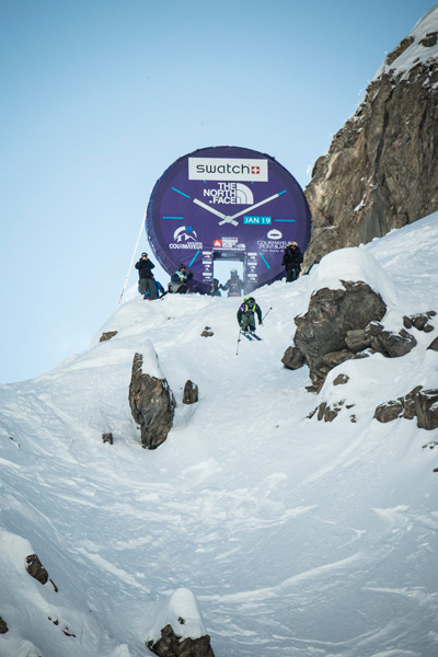 Swatch Freeride World Tour by The North Face (fot. D. Daher)