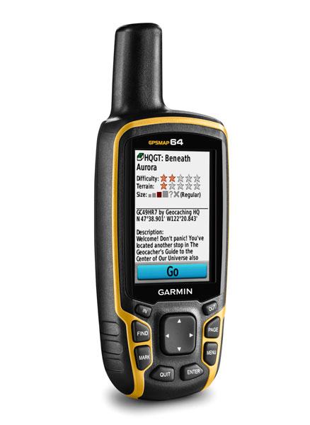 Garmin prezentuje nową serię wytrzymałych ręcznych urządzeń nawigacyjnych GPSMAP 64