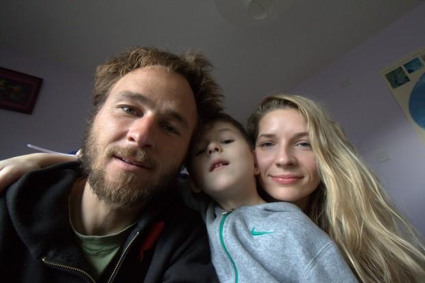 Marek Klonowski z rodziną (fot. Marek Klonowski)