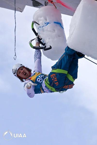 Markus Bendler w akcji (fot. UIAA)