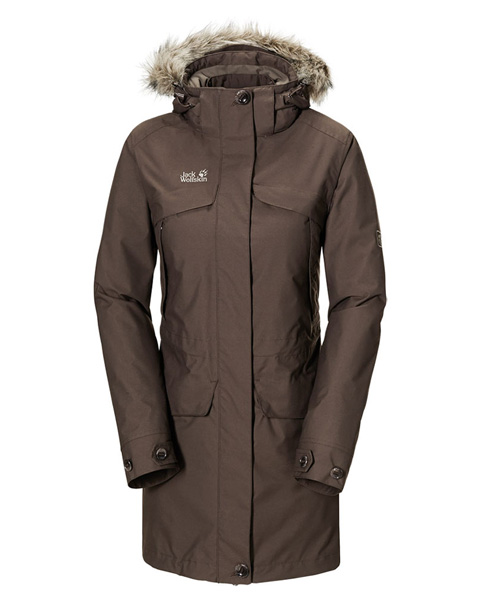 Jack Wolfskin, White Coat Women