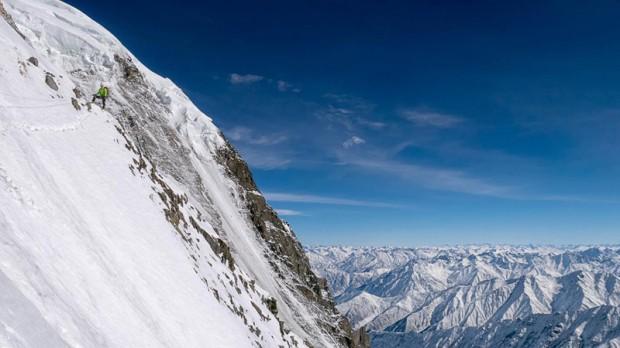 Miejsce obozu III 6700 m (fot. Simone Moro)
