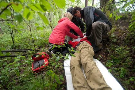 Szkolenie z outdoorowej pierwszej pomocy OFA (fot. Alan Czekierda)