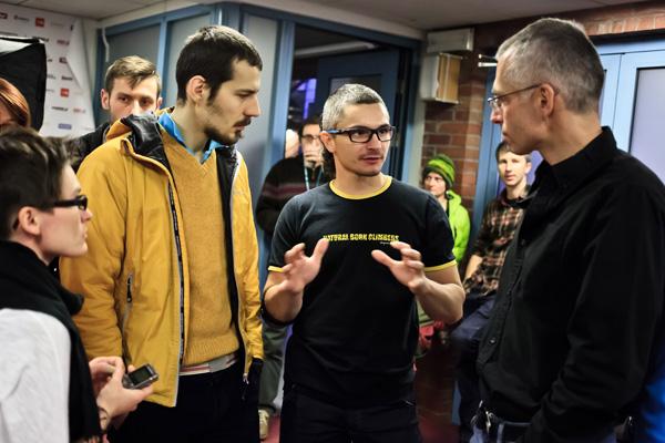Wspólne rozmowy c.d. (fot. Lesław Włodarczyk)