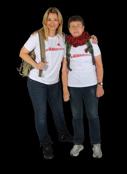 Martyna Wojciechowska i Anna Czerwińska (fot. Szpik na szczyt)