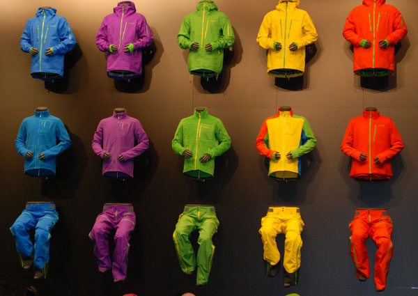 Barwna kolekcja marki Norrona (fot. Outdoor Magazyn)