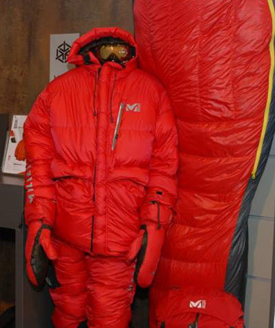 Zestaw MXP Down Tek kurtka i spodnie marki Millet (fot. Outdoor Magazyn)