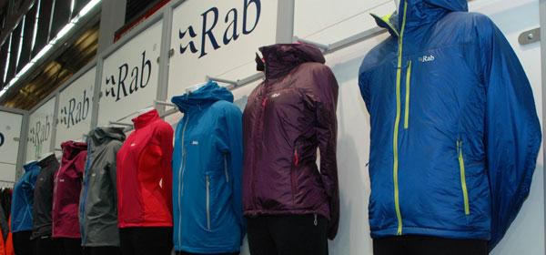 Nowości marki Rab (fot. Outdoor Magazyn)
