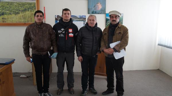 Briefing w ministerstwie (fot. Ashgar Porik)
