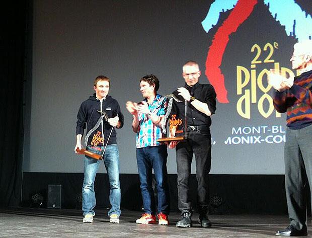 Laureaci Złotego Czekana 2014: Ueli Steck, Ian Welsted i Rafał Sławiński