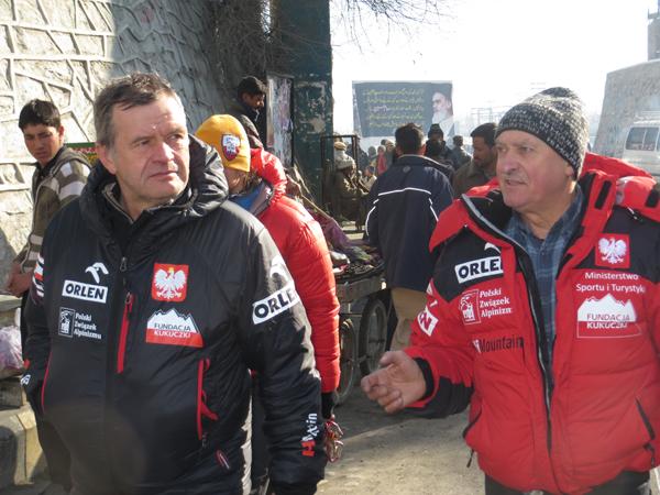 Maciej Berbeka i Krzysztof Wielicki (fot. Tomasz Kowalski)