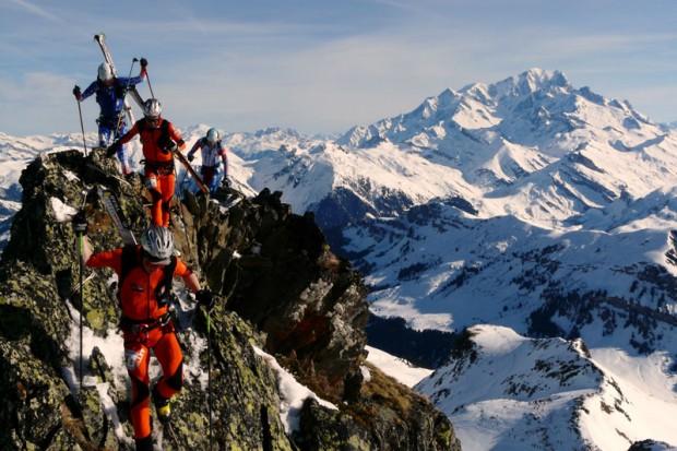 Na grani Grand Mont (fot. Marcin Zwoliński)