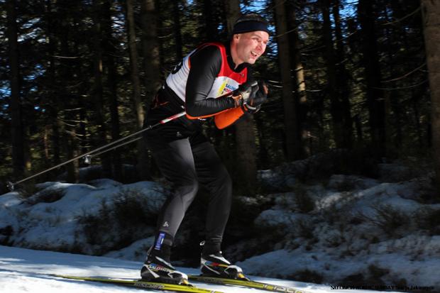 Artur Strzałkowski to jeden z dziesiątki zawodników, który w tym sezonie zaliczył każdy bieg w ramach cyklu Salomon Nordic Sunday (fot. Stacja Jakuszyce)