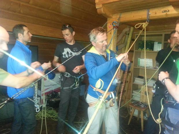 Kurs na instruktorów Narciarstwa Wysokogórskiego PZA (fot. Monika Strojny)