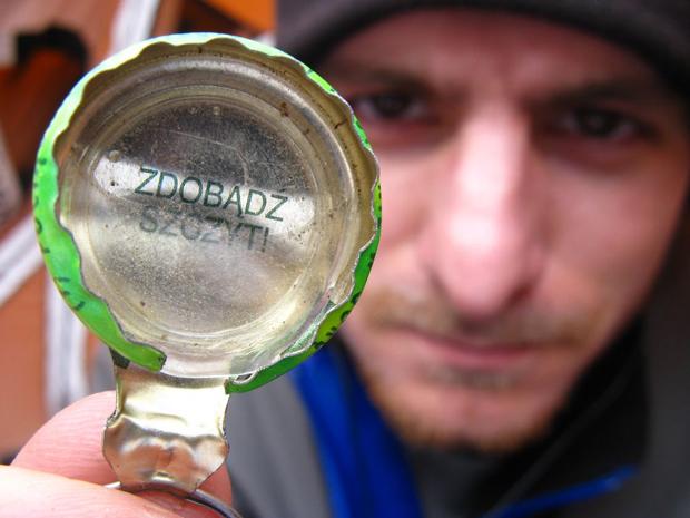 Tomek Kowalski - Aconcagua 2009 rok (źródło: Zimowy Ultramaraton Karkonoski im. Tomka Kowalskiego)