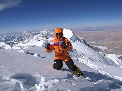 Piotr Morawski na Shisha Pangma – I zimowe wejście, 2005 rok