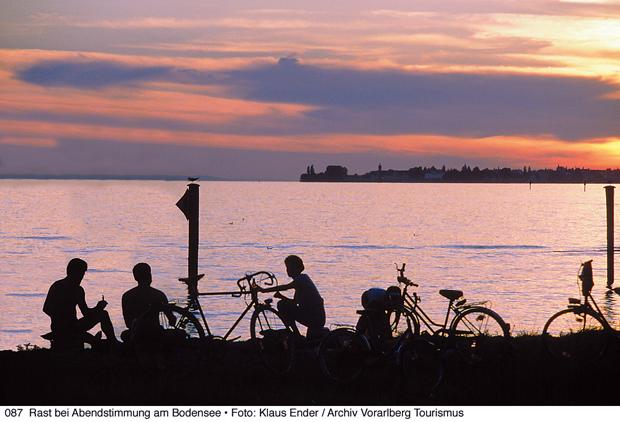 Odpoczynek nad Jeziorem Bodeńskim (fot. Klaus Ender)