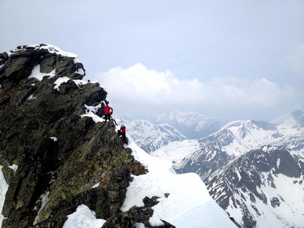 Zespół w drodze na szczyt (fot. arch. M. Derezińska-Osiecka)